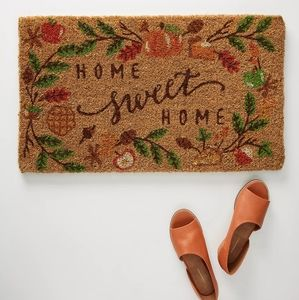 Door mat for fall from Anthropologie